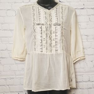 Maison Scotch  peasant blouse